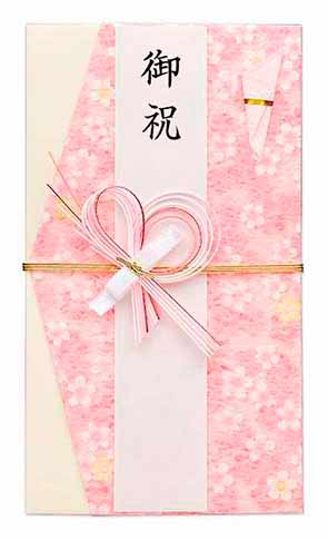 袋に柄が入っているなど今風にアレンジされているものは気心のしれた相手に贈る時に使用します。